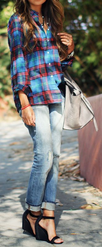 10 Fun Ways to Wear Boyfriend Jeans