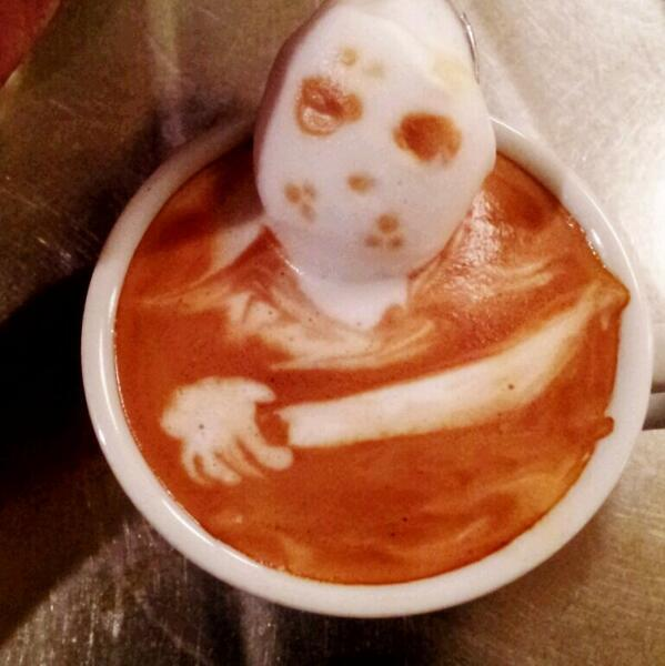 Happy Halloween with some Scary Coffee