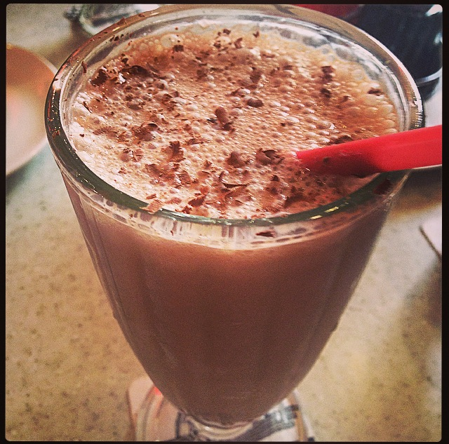 Drink of the Week: Banana Nutella Coffee Shake #DOTW