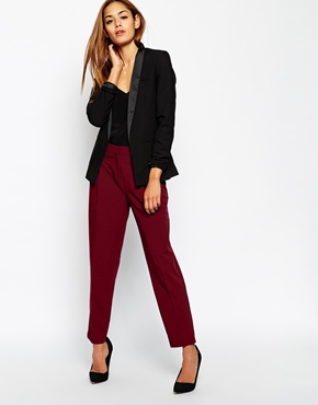 ASOS Peg Trousers with Pocket Detail