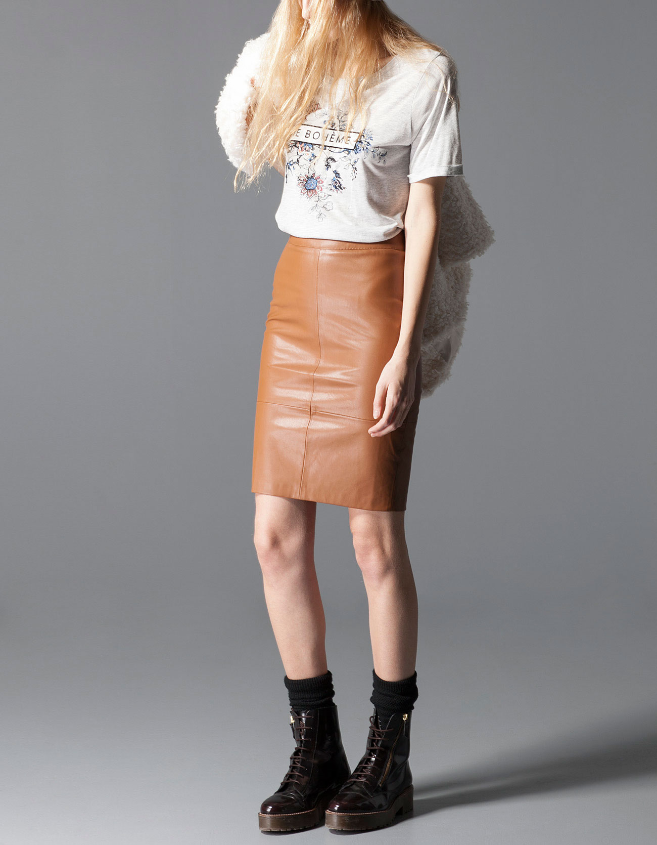 Stradivarius Tube Skirt