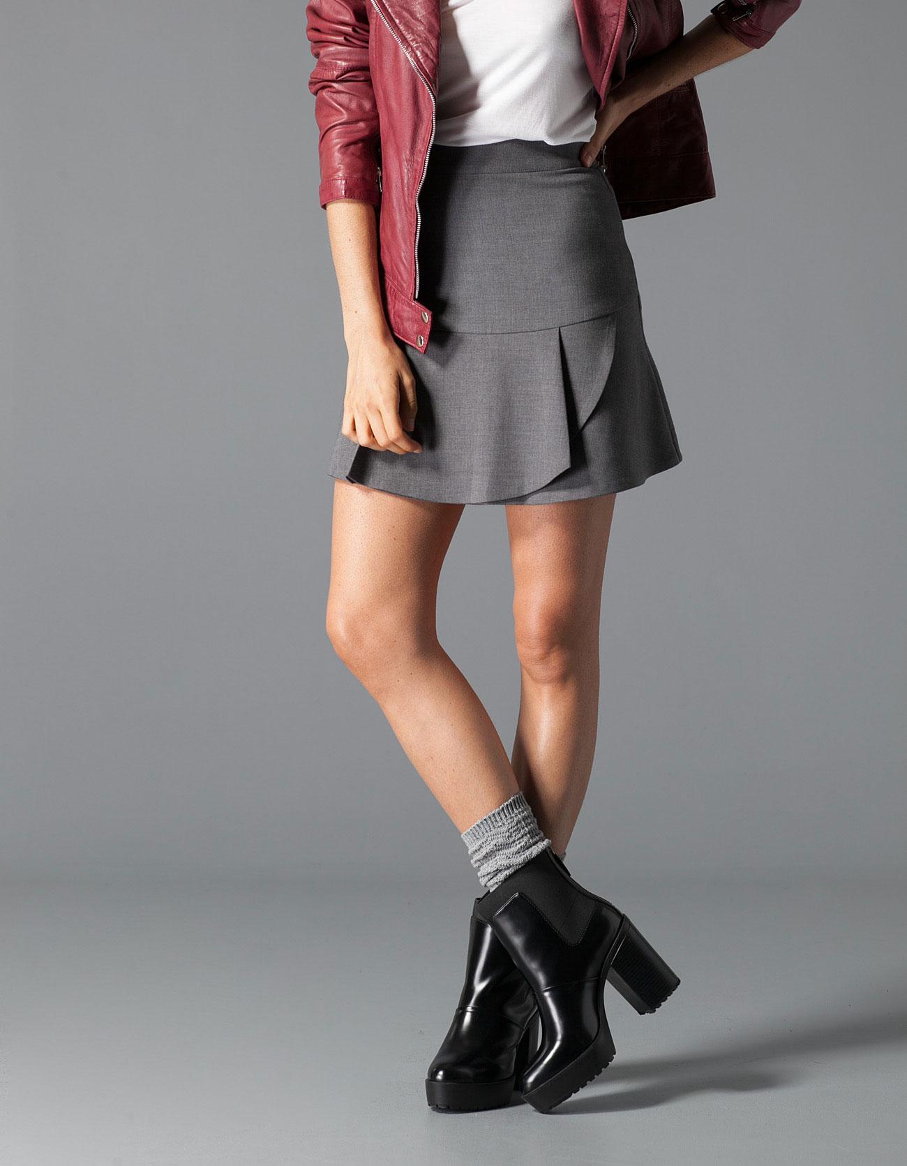 Stradivarius Frill Skirt