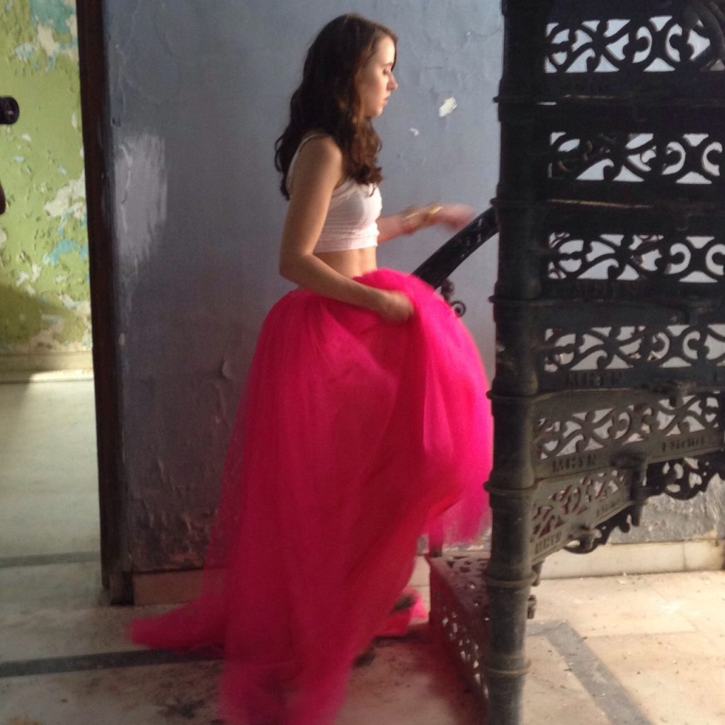 Styling For a Music Video: Fuchsia Tutu Skirts
