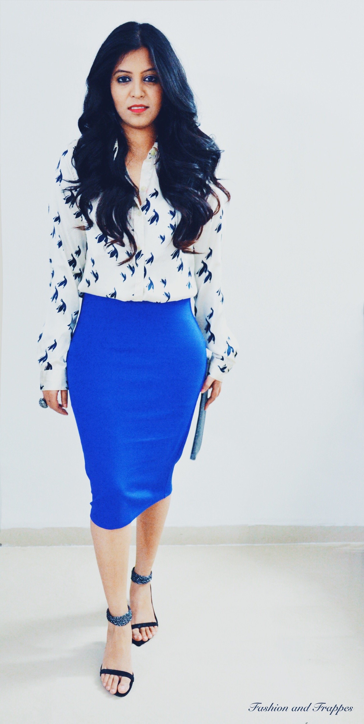 7590b2483c629 Christmas Party Outfit  Pencil Skirt