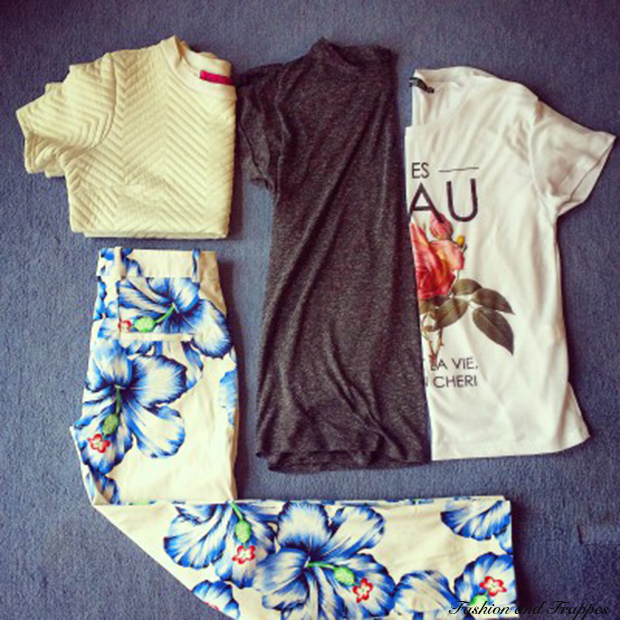 My Shopping Bag: Floral Trousers and Printed Tees
