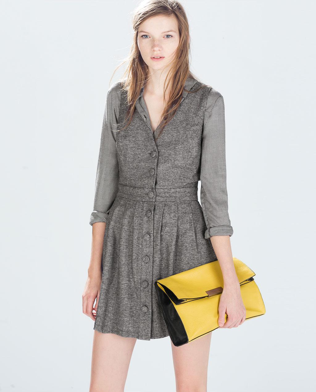 Zara Pinafore Dress