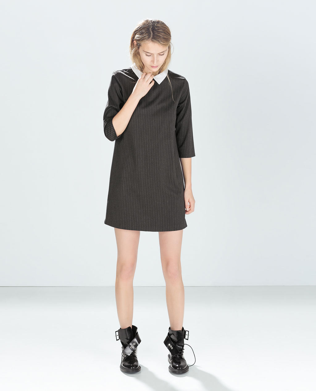Zara Pinstripe Dress