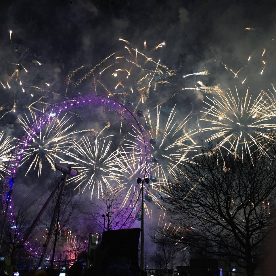 Happy New Year 2015: London Fireworks and Celebrations