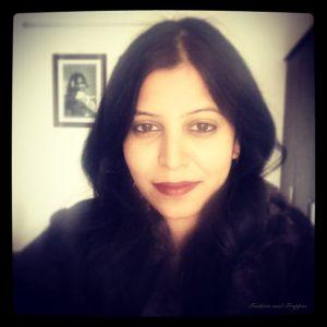 Selfie marsala wine lipstick