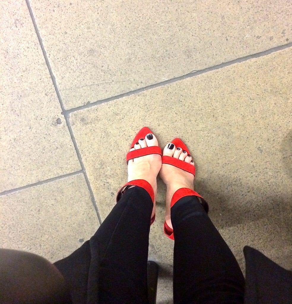 Shoe Selfies on Instagram #shoeselfie