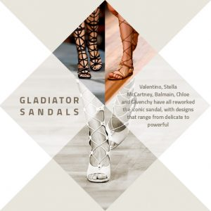 gladiator sandals trends