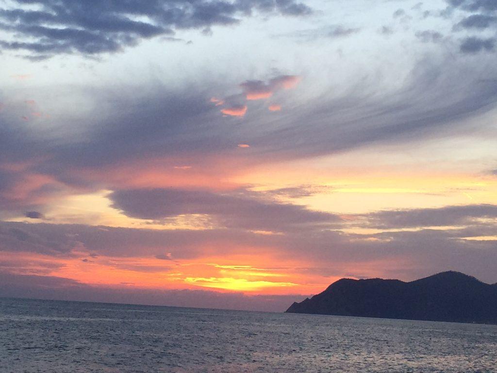 Sunset Cinque Terre Italy