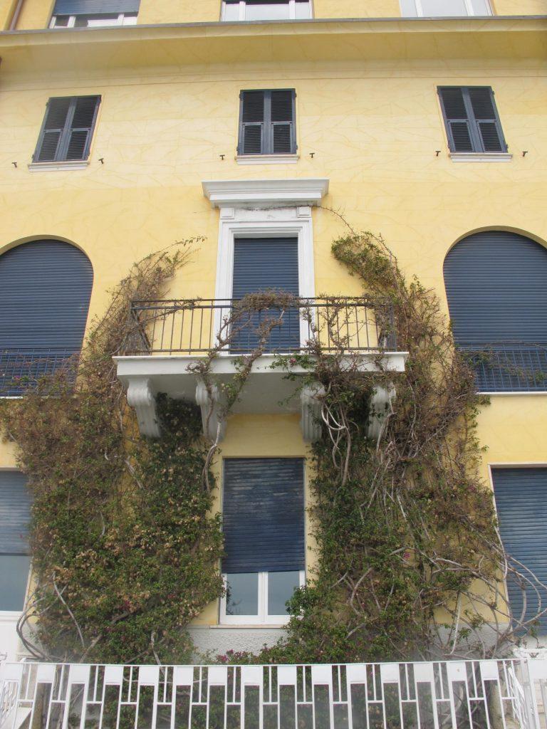 Cinque Terre Yellow Building Italy