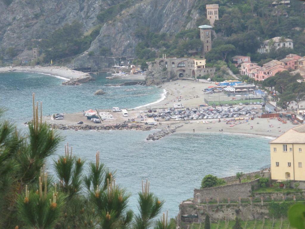 Cinque Terre Italy Aerial view