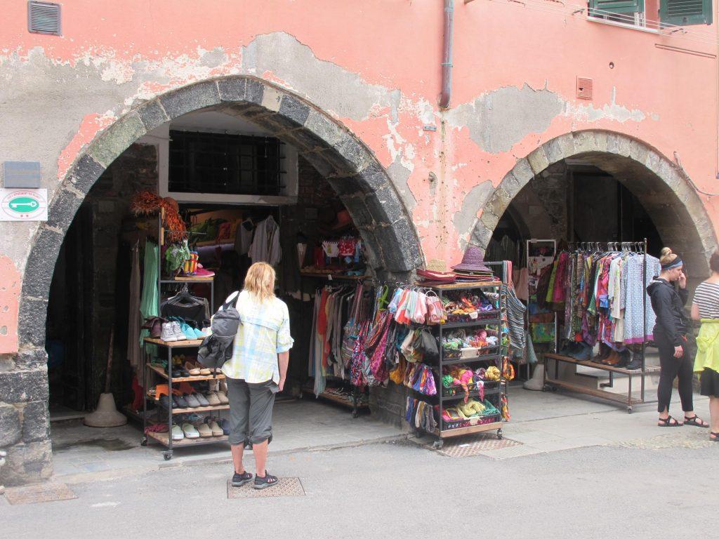 Markets Cinque Terra Italy