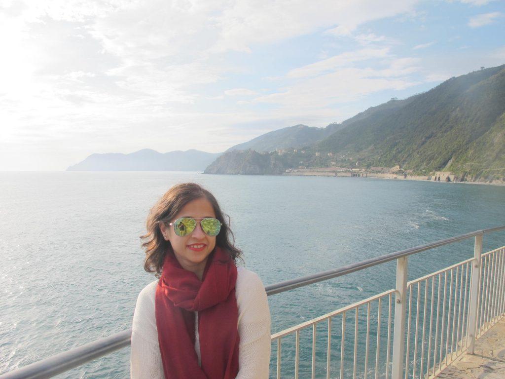 Mirror shades New look Cinque Terre Italy