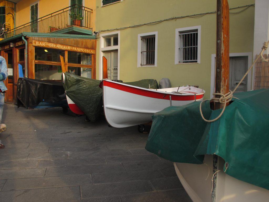 Boats Monorola Cinque Terre Italy