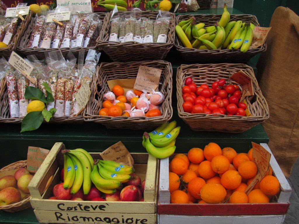 Cinque Terre Italy Fruits