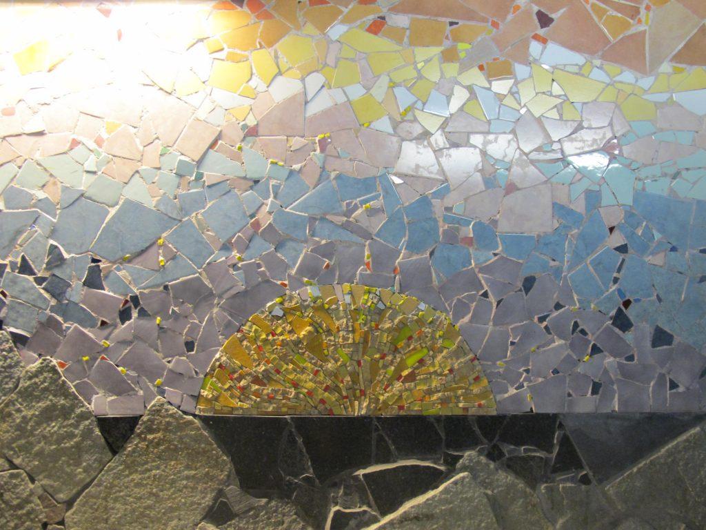 Cinque Terre Italy Mosaic