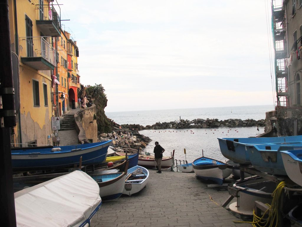 Cinque Terre Italy Boats