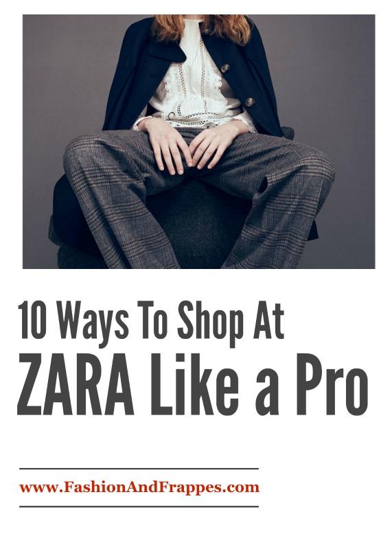 10 Ways to Shop At Zara