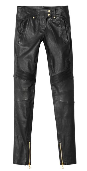 balmain-hm leather pants fashion and frappes