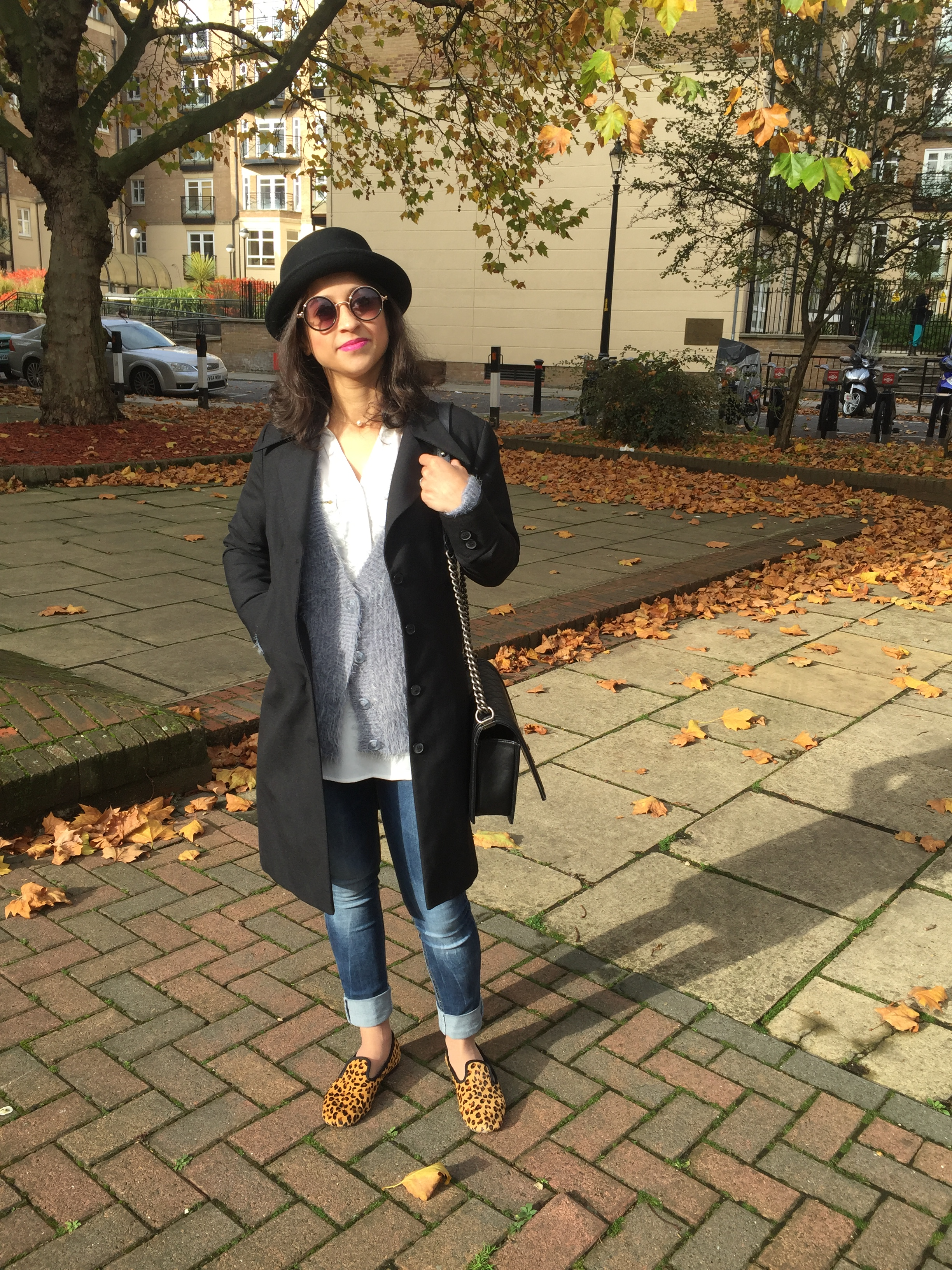 Autumn Androgyny leaves hat