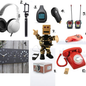 Technology and gadgets - holiday gift guide