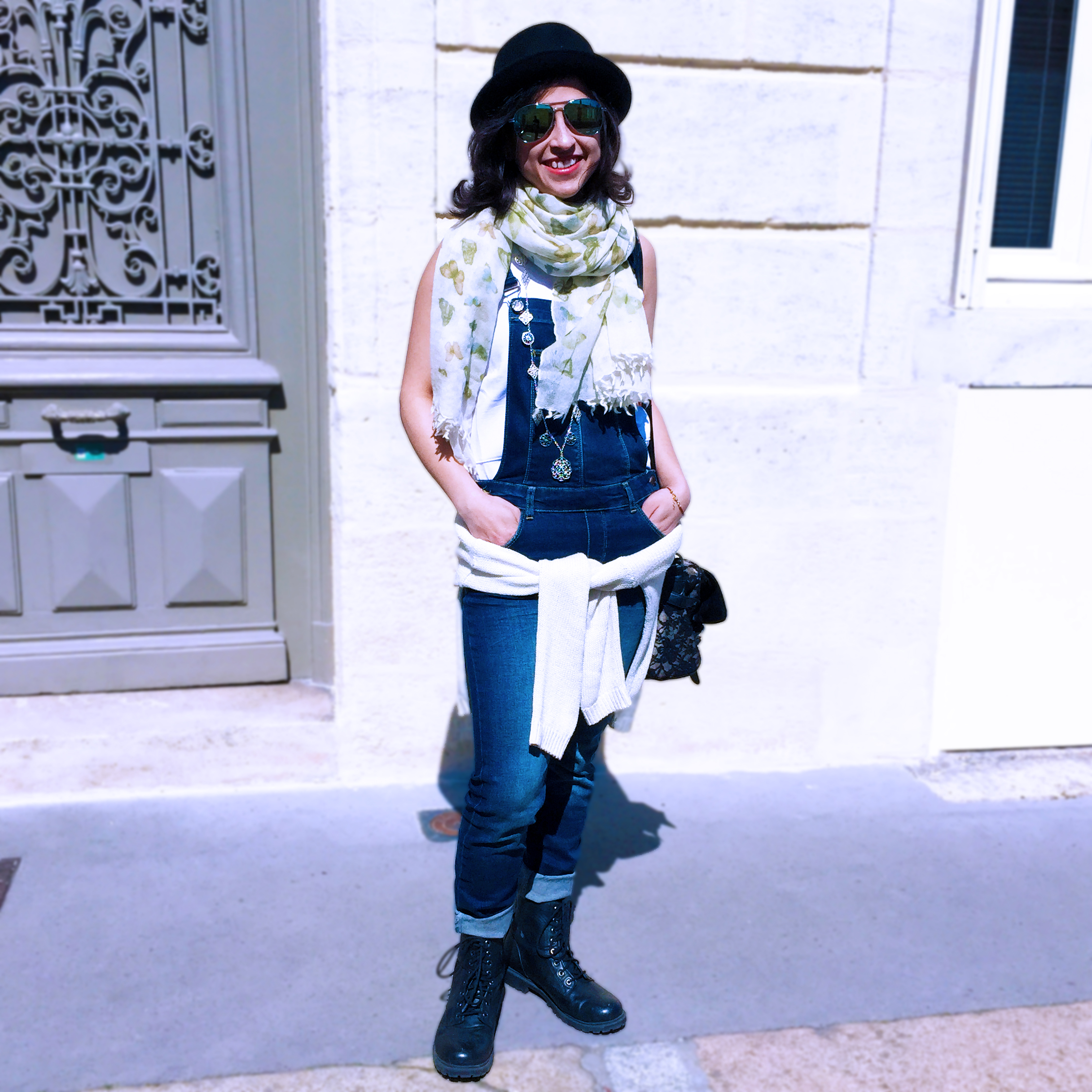 Fashion Resolutions denim dungarees