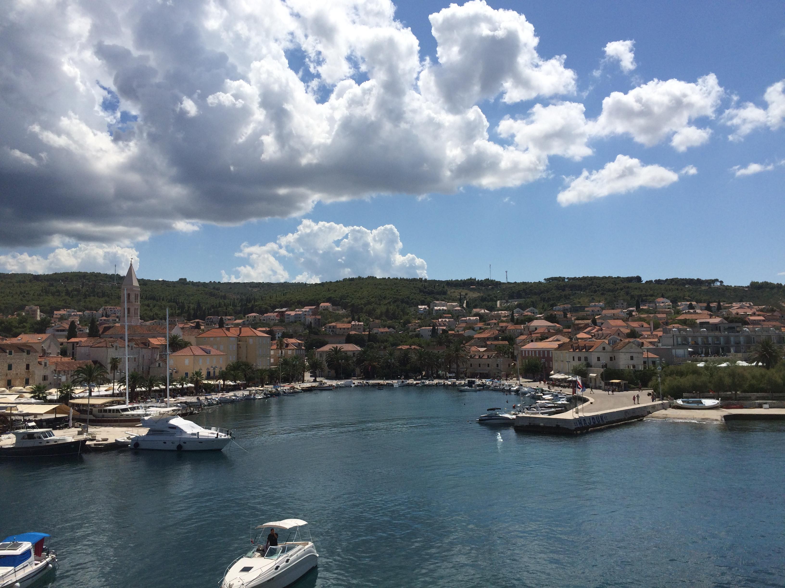 Croatia Brac island boats