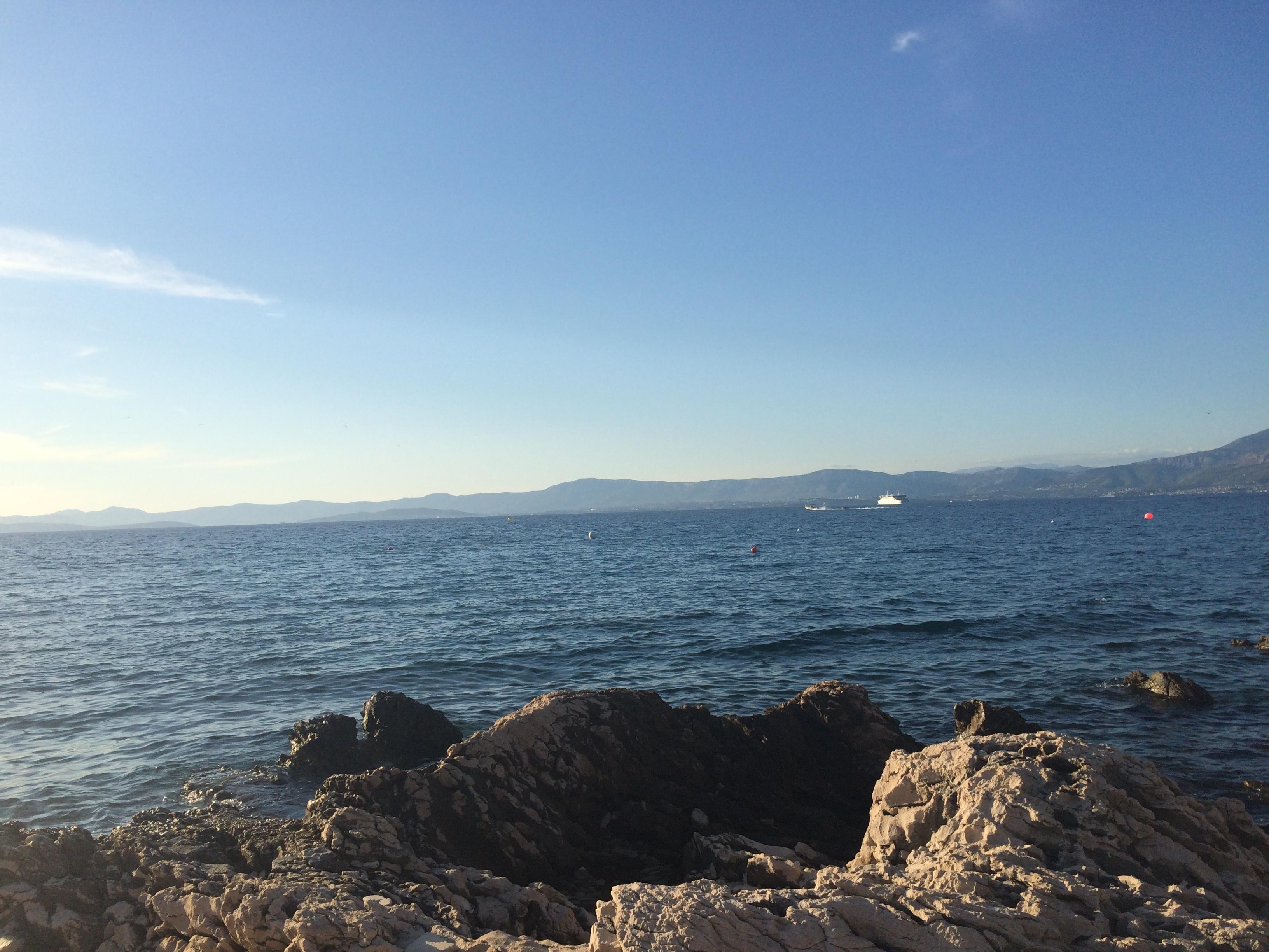 Brac Croatia rock and sea