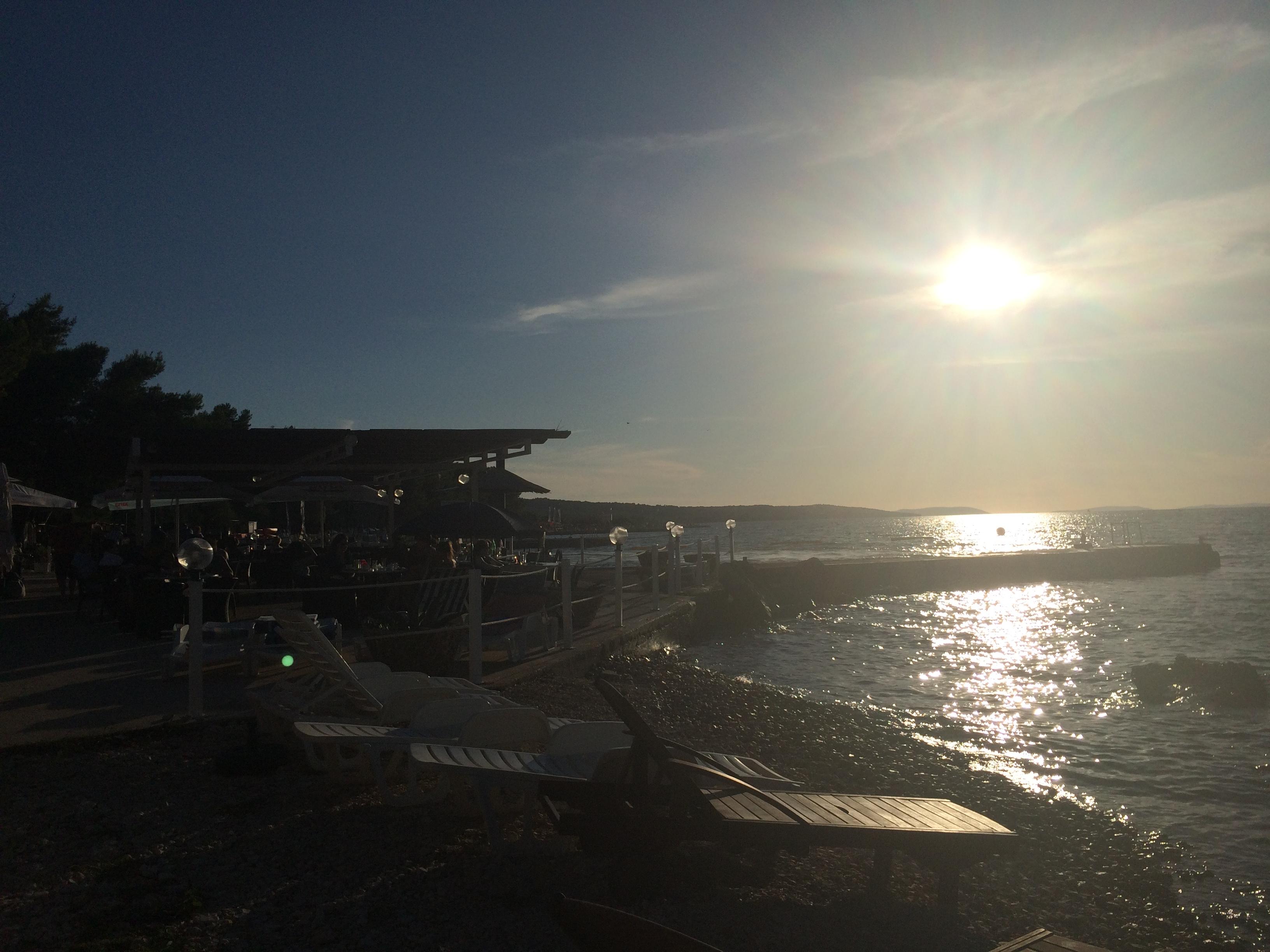 Croatia Brac sunset