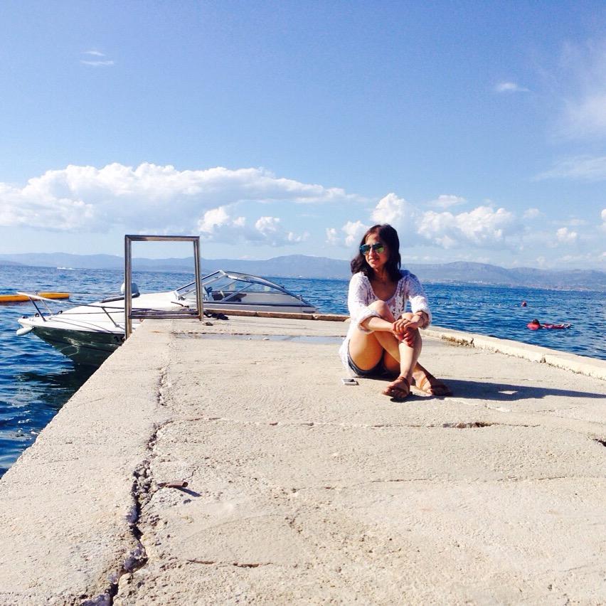 Brac Croatia seaside blue water