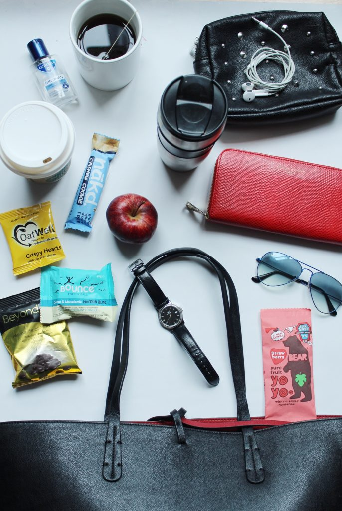 Whats in my Handbag: Healthy Snacks