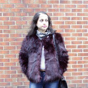 faux fur candy yum yum mac