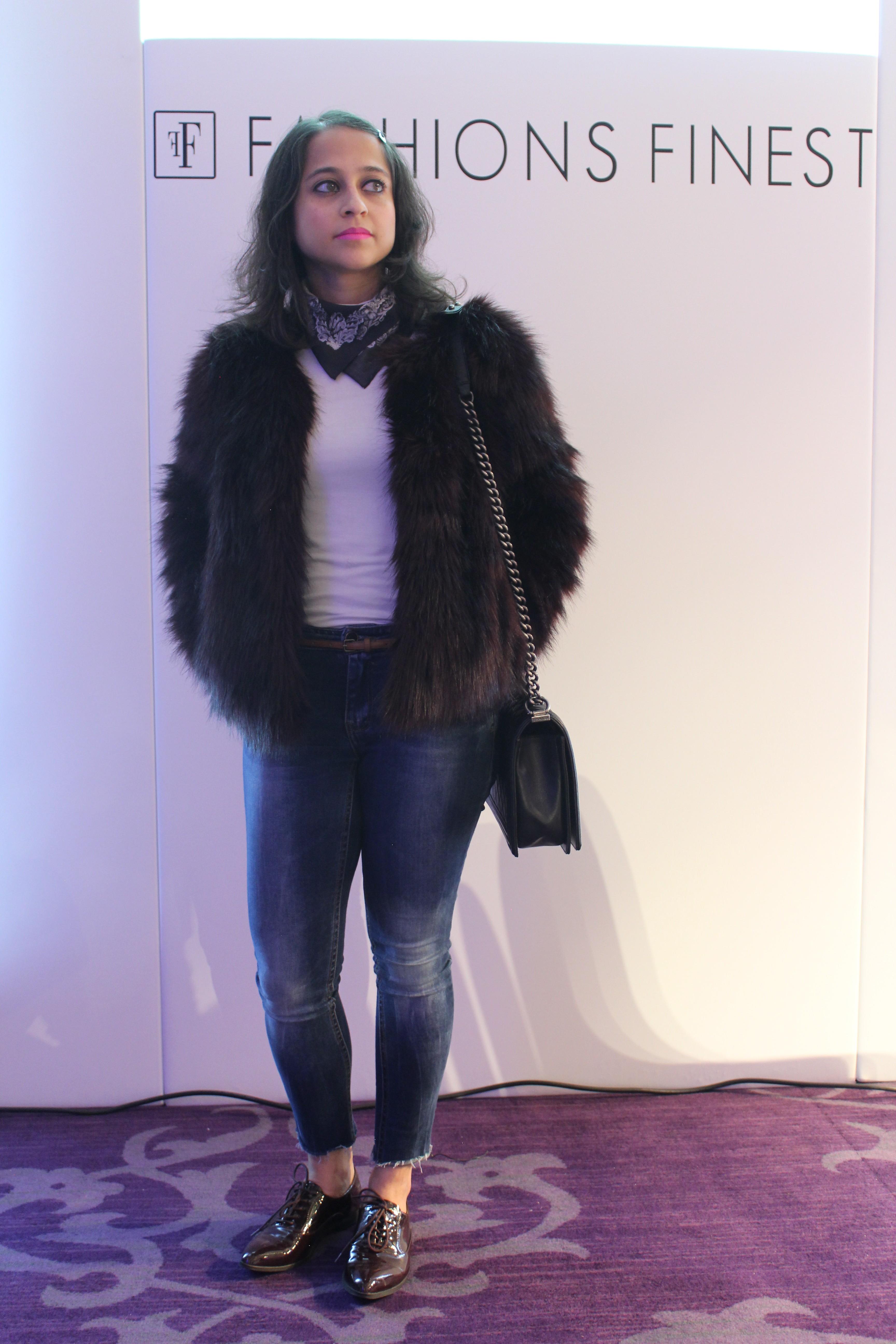 fashions finest faux fur fashion show