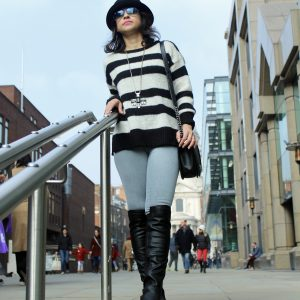 Over the Knee boots fashion St Paul's