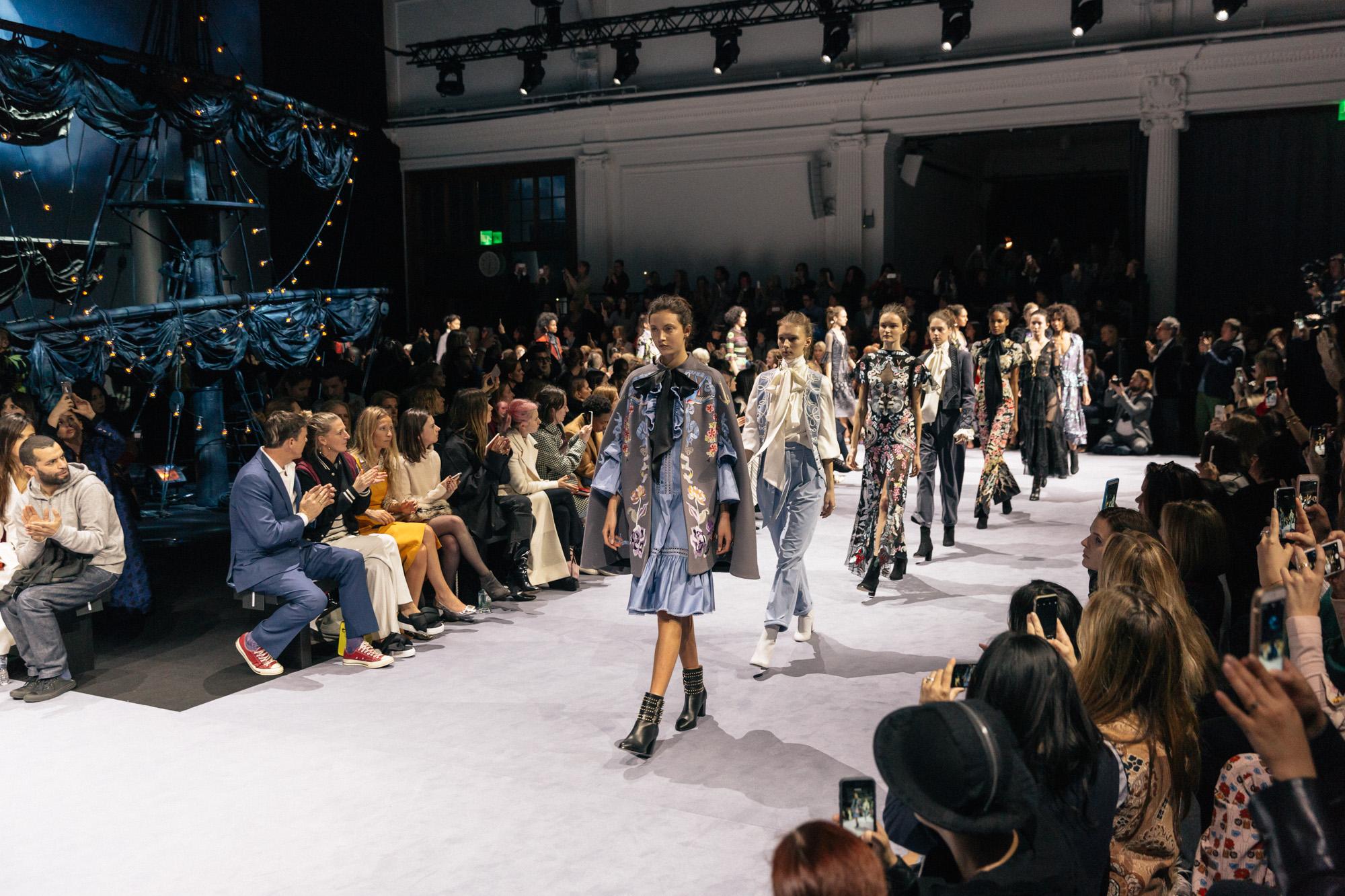 Temperly, London Fashion Week, AW16, British Fashion Council