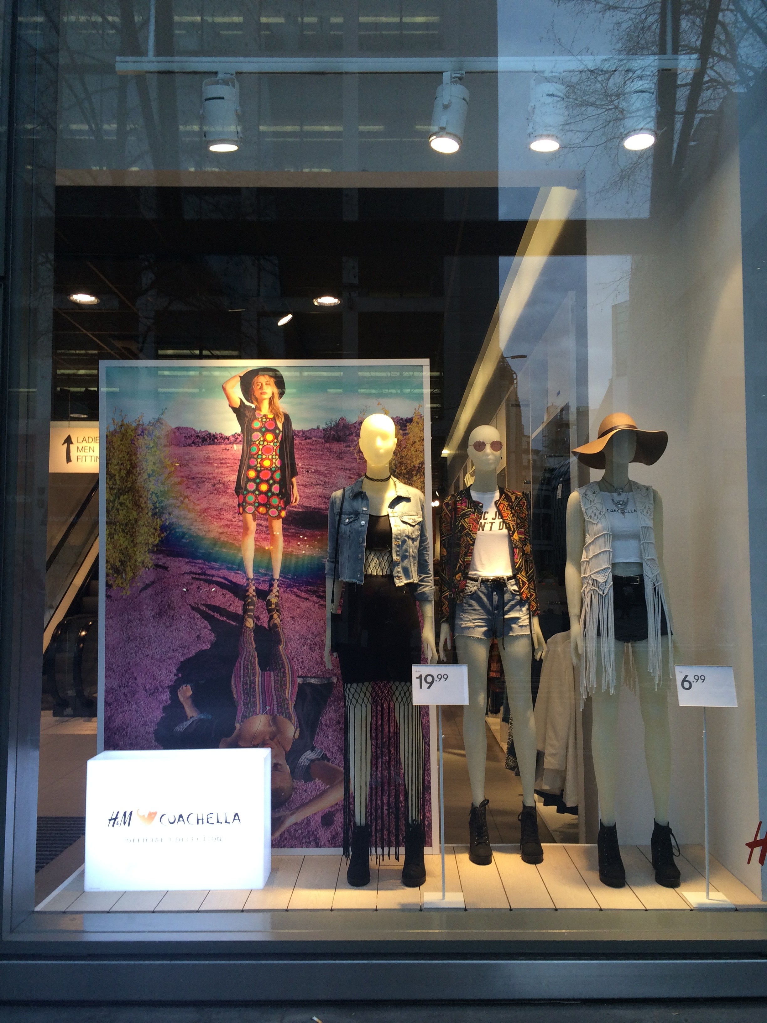 Coachella fashion at H&M