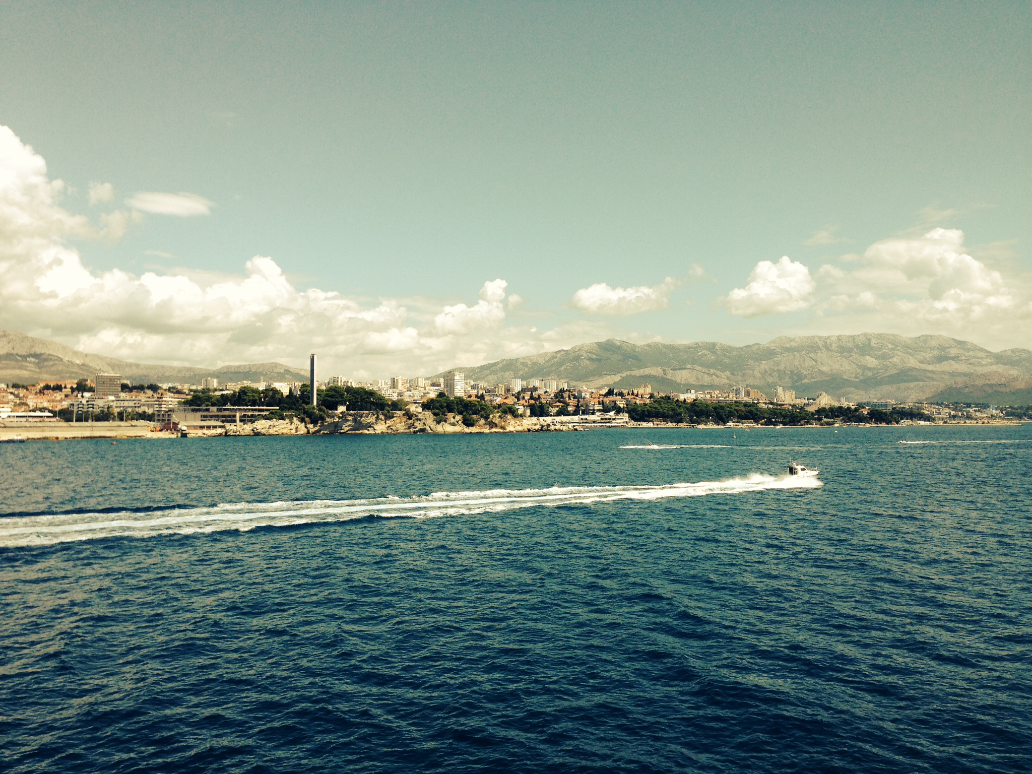 Croatia speedboat