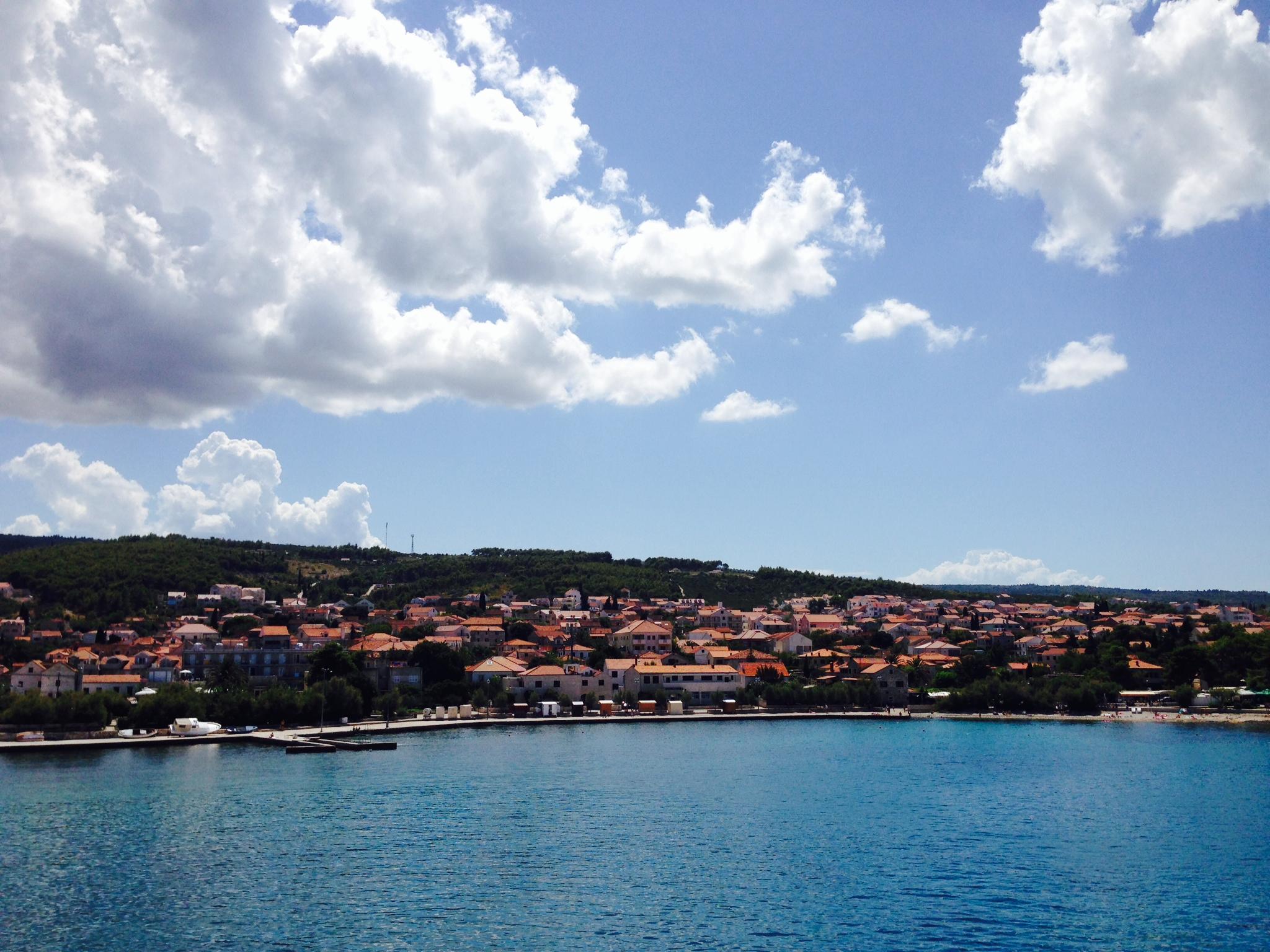 Croatia Brac city