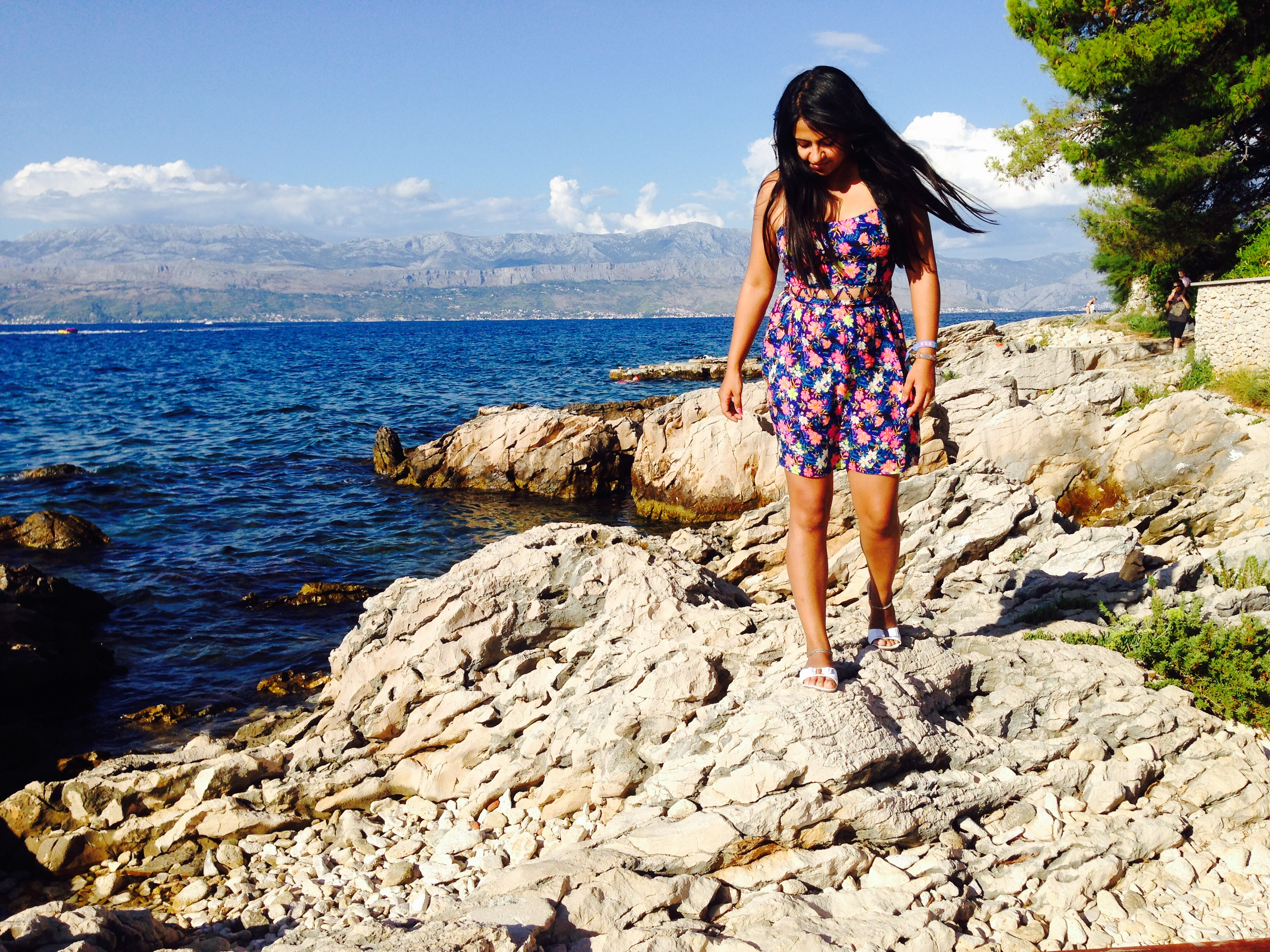 Bidisha in Croatia Brac