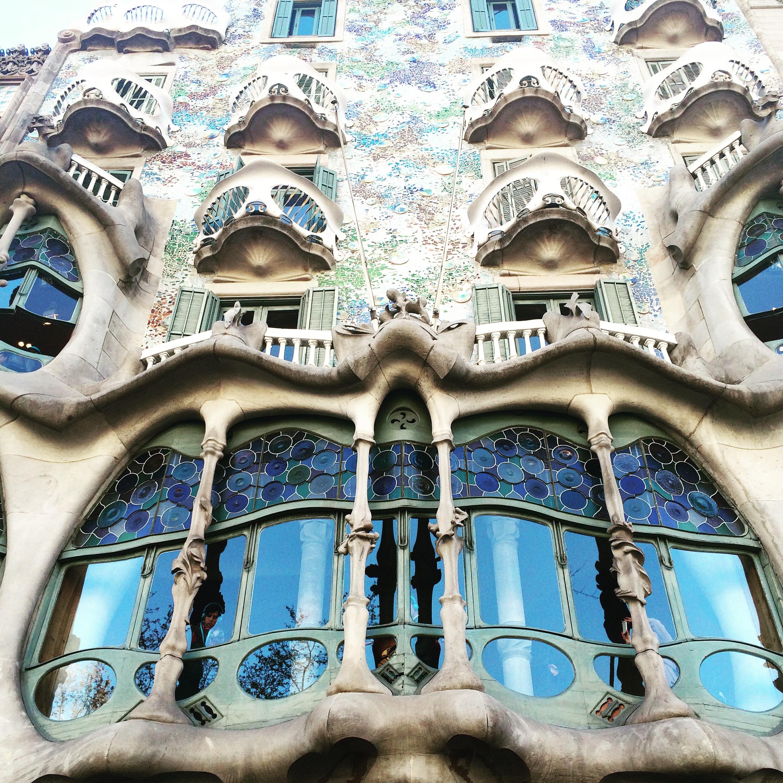 Barcelona Gaudi Caso Batlo
