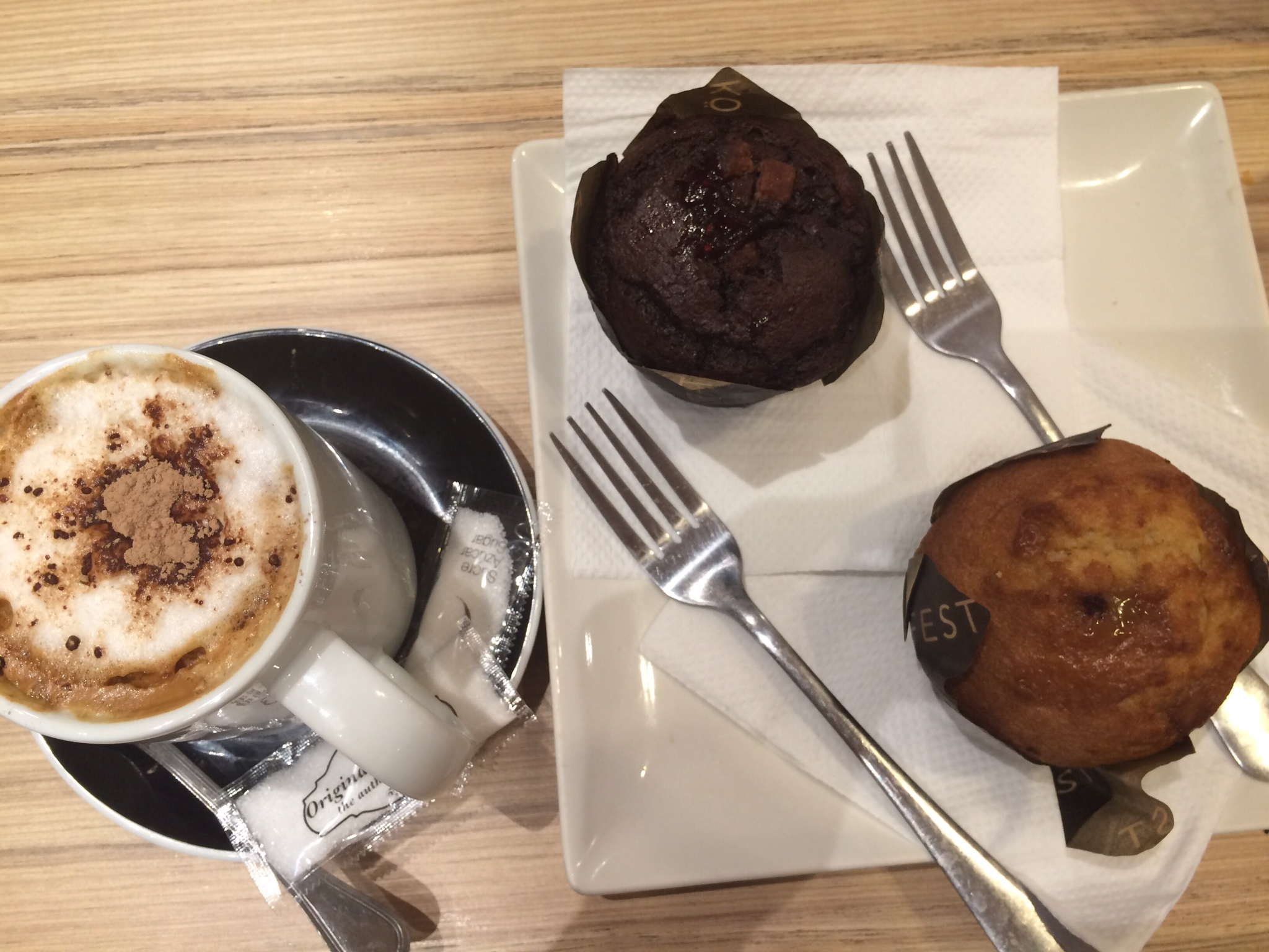 Barcelona dessert cupcake