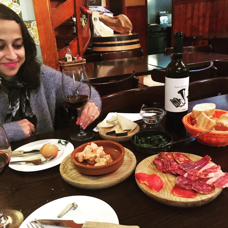 Barcelona tapas food