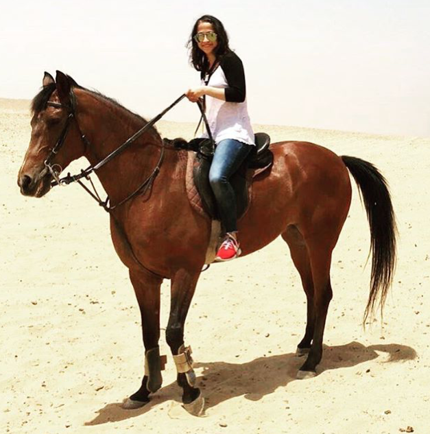 horse riding - five things- Egypt- fashion and frappes