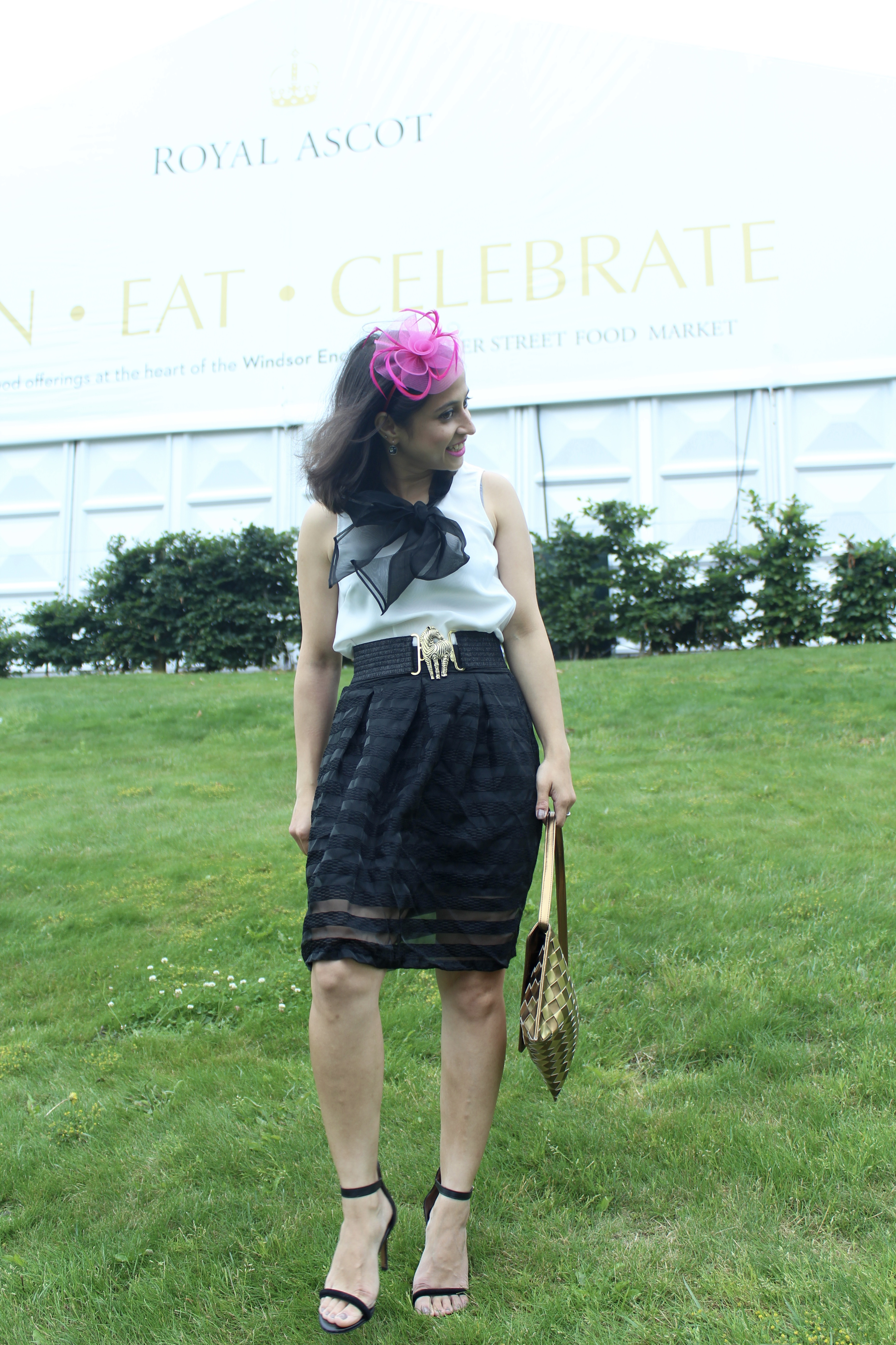 Royal Ascot horse racing fascinator
