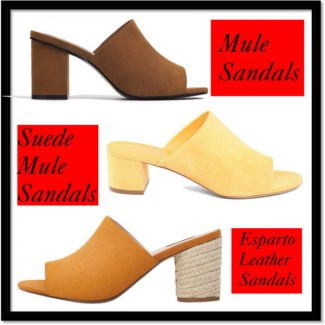 Mansur Gavriel Mules: Street and High Street