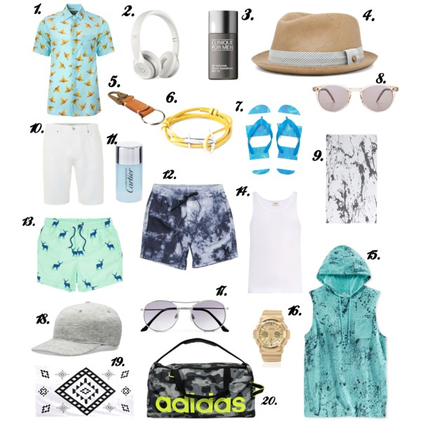 Mens beach essentials final
