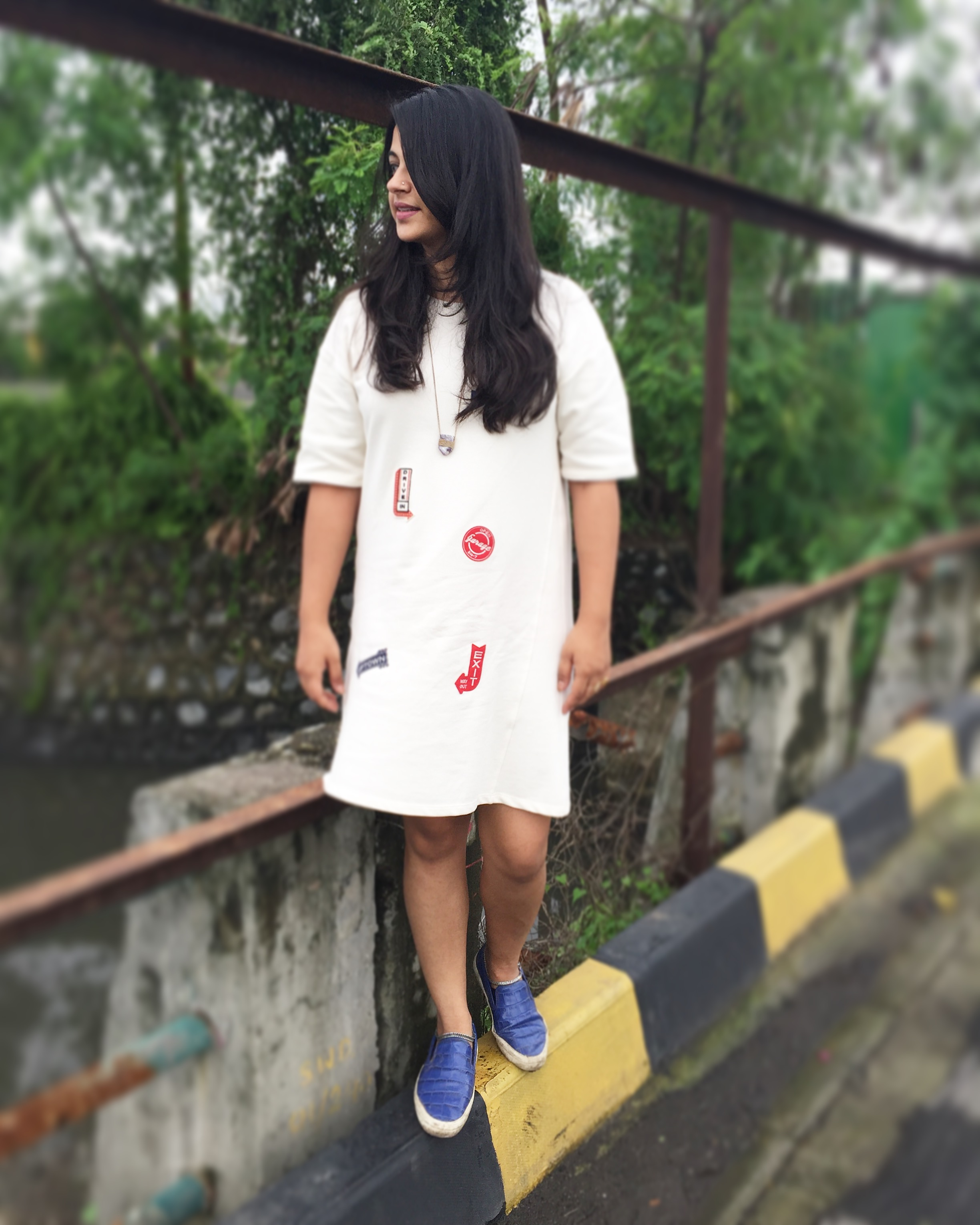 My White T-shirt Dress